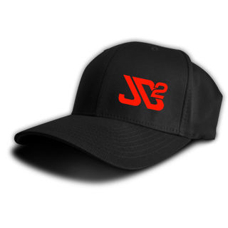 Picture of Flex Fit Hat with Red Embroidered Logo